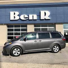 Used 2019 Toyota Sienna LE for sale in Steinbach, MB