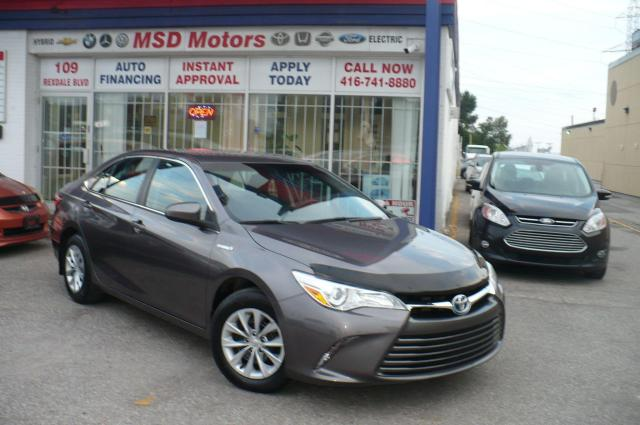 2017 Toyota Camry LE HYBRID ONE OWNER