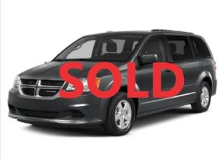 Used 2017 Dodge Grand Caravan CVP/SXT for sale in Port Elgin, ON