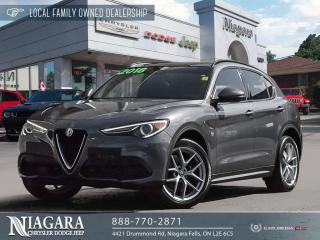Used 2018 Alfa Romeo Stelvio Ti | PANORAMIC ROOF for sale in Niagara Falls, ON