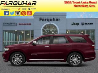 New 2020 Dodge Durango Citadel for sale in North Bay, ON