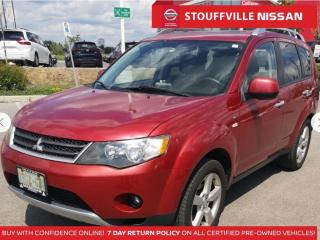 Used 2008 Mitsubishi Outlander XLS  Leather  Roof  Alloys  YOU Certify YOU Save for sale in Stouffville, ON