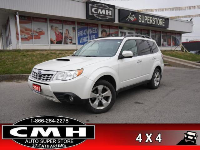 2011 Subaru Forester 2.5XT Limited  LEATH HS BT ROOF P/SEATS