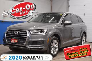 Used 2017 Audi Q7 3.0T PROGRESSIV LOADED for sale in Ottawa, ON