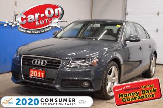 Used 2011 Audi A4 2.0T SUPER CLEAN / SUNROOF for sale in Ottawa, ON
