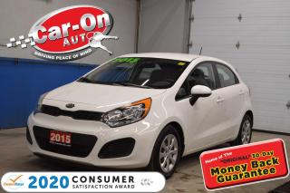 Used 2015 Kia Rio 5-Door LX ONLY 55,000 KM AIR COND / HEATED SEATS for sale in Ottawa, ON