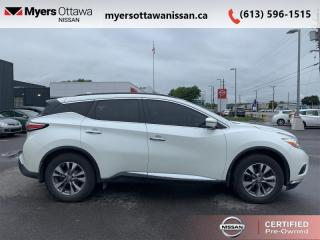 Used 2016 Nissan Murano SV  - Sunroof -  Navigation - $124 B/W for sale in Ottawa, ON