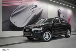 Used 2017 Audi Q3 KOMFORT - 2.0 TFSI for sale in Sherbrooke, QC