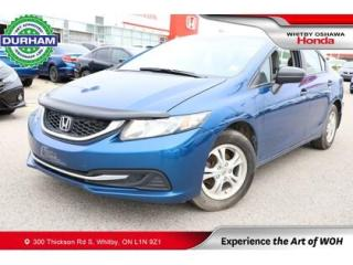 Used 2015 Honda Civic DX for sale in Whitby, ON