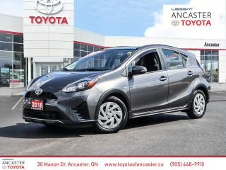 Used 2018 Toyota Prius c Technology Upgrade Package for sale in Ancaster, ON