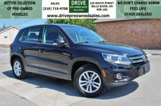 Used 2015 Volkswagen Tiguan Comfortline AWD Low K's Bluetooth Cruise Control for sale in Belle River, ON