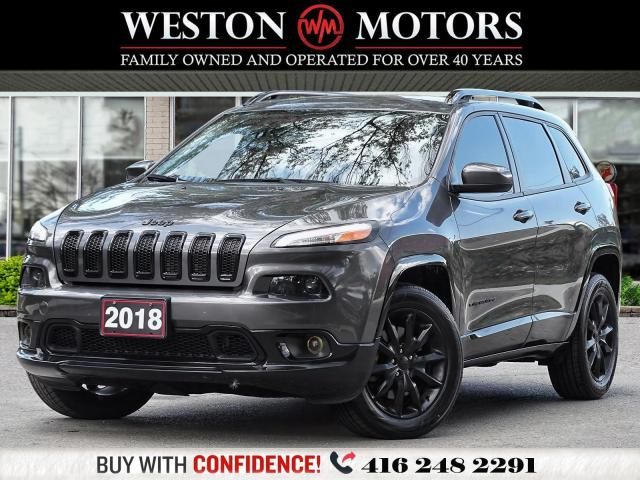 2018 Jeep Cherokee NORTH SPECIAL EDITION*4X4*3.2L V6*NAVI!!*