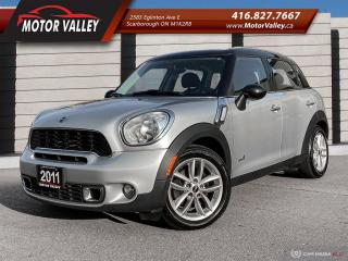 Used 2011 MINI Cooper Countryman S ALL4 - AWD CLEAN CAR! for sale in Scarborough, ON