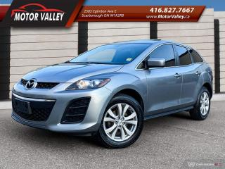 Used 2011 Mazda CX-7 GS AWD LEATHER - SUNROOF - NO ACCIDENT! for sale in Scarborough, ON