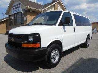 Used 2010 Chevrolet Express LS 12 Passenger Loaded Certified 167,000Km for sale in Rexdale, ON
