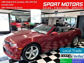 Used 2014 Chevrolet Camaro 2LT+New Tires+Camera+Leather+Accident Free for sale in London, ON