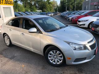 Used 2011 Chevrolet Cruze LT/ TURBO/ AUTO/ PWR GROUP/ BLUETOOTH/ LOADED! for sale in Scarborough, ON