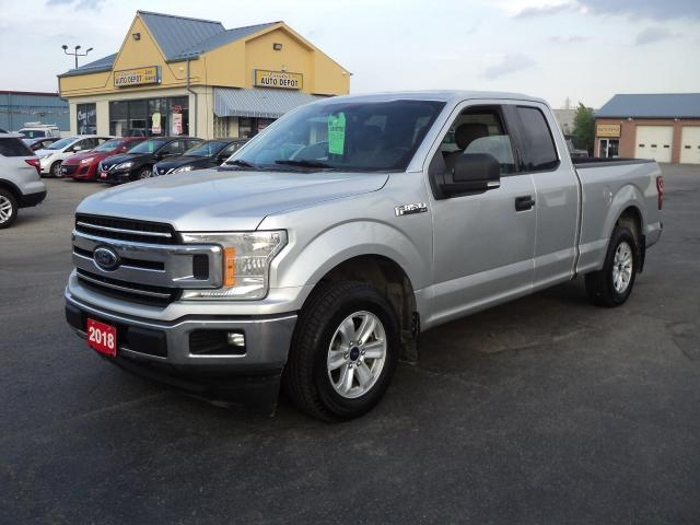 2018 Ford F-150 XLT SuperCab 2.7L Ecoboost  6.5ft Box BackUpCam