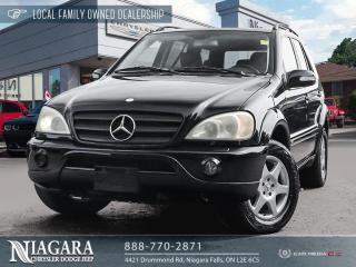 Used 2002 Mercedes-Benz ML-Class ML 320 for sale in Niagara Falls, ON
