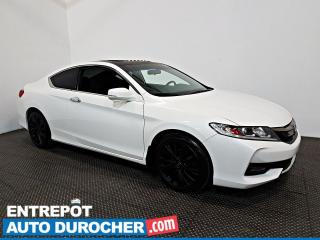 Used 2017 Honda Accord Coupe EX TOIT OUVRANT - A/C - Caméra de Recul for sale in Laval, QC