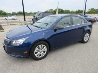 Used 2012 Chevrolet Cruze 4DR SDN LS+ W-1SB for sale in Winnipeg, MB