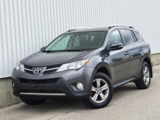 Used 2015 Toyota RAV4 XLE|Sunroof|Back Up Cam|WE FINANCE EVERYONE for sale in Mississauga, ON
