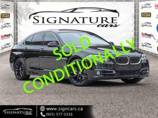 Used 2016 BMW 5 Series 4dr Sdn 528i xDrive AWD NEW TIRES AND BRAKES ALL AROUND for sale in Mississauga, ON
