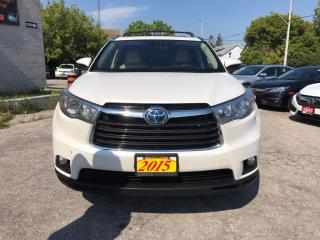Used 2015 Toyota Highlander HYBRID 4WD 4dr Limited for sale in Barrie, ON