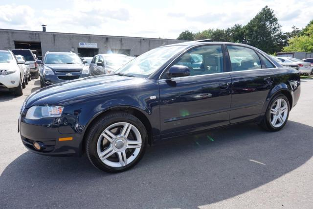 2007 Audi A4 New 2.0T AWD TIPTRONIC CERTIFIED 2YR WARRANTY *1 OWNER*FREE ACCIDENT* SUNROOF LEATHER CRUISE