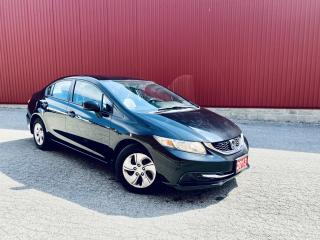 Used 2013 Honda Civic LX, AUTO, HEATED SEATS, CRUISE CONTROL AUTOMATIC, HEATED SEATS, CRUISE CONTROL, BLUETOOTH for sale in Scarborough, ON