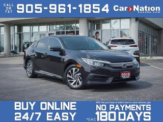 Used 2016 Honda Civic Sedan EX| SUNROOF| BACK UP CAMERA| for sale in Burlington, ON