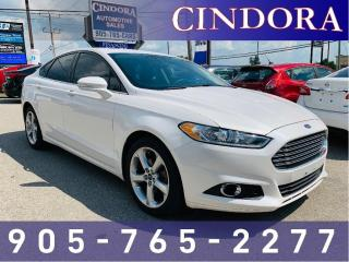 Used 2015 Ford Fusion SE, Nav, Sunroof, Cloth for sale in Caledonia, ON