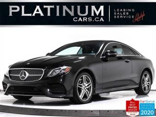 Used 2018 Mercedes-Benz E-Class E400 4MATIC, COUPE, PREMIUM, AMG, NAV, HUD, 360 for sale in Toronto, ON