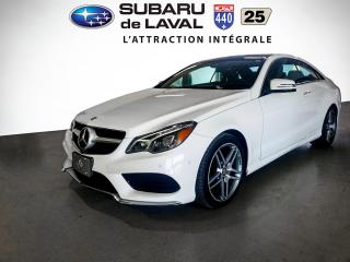 Used 2014 Mercedes-Benz E-Class E 350 coupé 4MATIC for sale in Laval, QC
