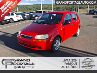 Used 2006 Suzuki Swift Hayon à 5 portes, boîte automatique avec for sale in Rivière-Du-Loup, QC