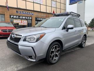 Used 2014 Subaru Forester 5dr Wgn Auto 2.0XT Touring / NAVIGATION/ PWR ROOF for sale in North York, ON