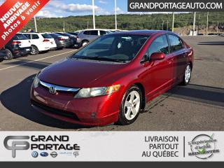 Used 2008 Honda Civic 4 portes, boîte manuelle, LX for sale in Rivière-Du-Loup, QC