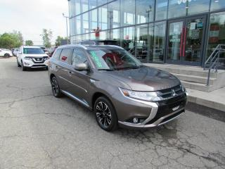 Used 2018 Mitsubishi Outlander Phev GT S-AWC TOIT*CUIR*CAMÉRAS for sale in Lévis, QC