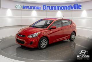 Used 2014 Hyundai Accent GL + GARANTIE + A/C + CRUISE + BLUETOOTH for sale in Drummondville, QC