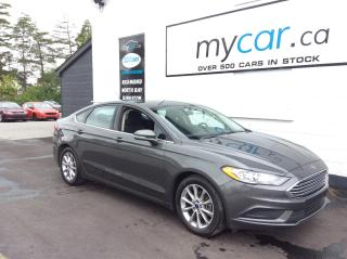Used 2017 Ford Fusion ALLOYS, HEATED SEATS, BACKUP CAM!! for sale in Richmond, ON