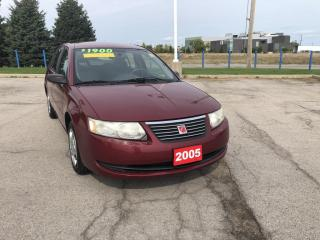 Used 2005 Saturn Ion 2 Midlevel BEING SOLD AS IS for sale in Grimsby, ON