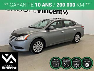 Used 2013 Nissan Sentra S ** GARANTIE 10 ANS ** Fiable et économique! for sale in Shawinigan, QC