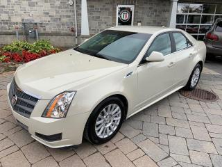 Used 2010 Cadillac CTS AWD for sale in St-Eustache, QC