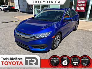 Used 2017 Honda Civic EX 4 portes CVT for sale in Trois-Rivières, QC