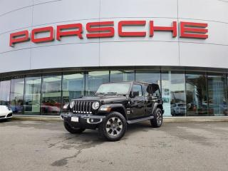 Used 2018 Jeep Wrangler Unlimited Jl Unlimited Sahara for sale in Langley City, BC