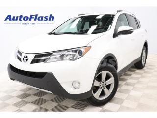 Used 2015 Toyota RAV4 XLE *FWD *TOIT/ROOF *CAMERA *BLUETOOTH *CRUISE for sale in St-Hubert, QC