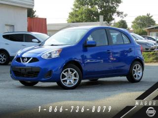 Used 2016 Nissan Micra SV + MAGS + A/C + BLUETOOTH + GR ÉLECTRI for sale in Magog, QC