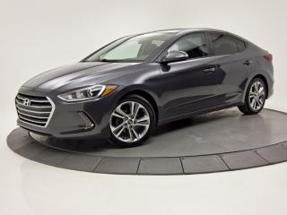 Used 2017 Hyundai Elantra Auto GLS MAGS TOIT OUVRANT CAMERA DE RECUL for sale in Brossard, QC