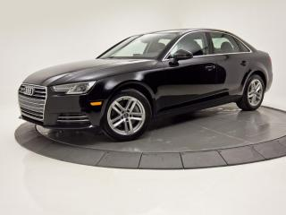 Used 2017 Audi A4 Auto QUATTRO TOIT OUVRANT BLUETOOTH for sale in Brossard, QC