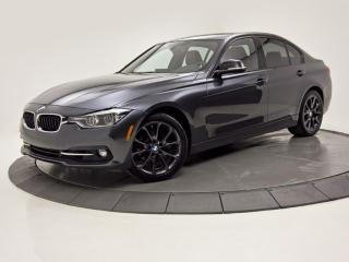 Used 2017 BMW 3 Series 330i xDrive TOIT OUVRANT BANC CHAUFFANT CUIR ROUGE for sale in Brossard, QC